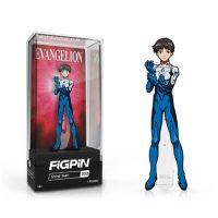 Neon Genesis Evangelion Shinji Ikari FiGPiN Enamel Pin Pins