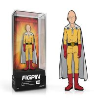 One-Punch Man Saitama FiGPiN Enamel Pin Pins