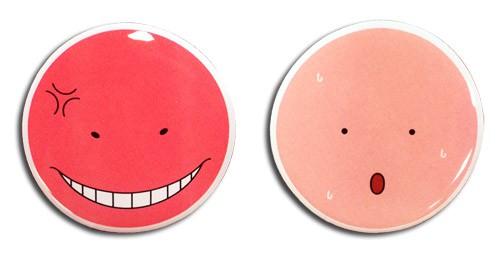 Assassination Classroom – Koro Angry & Hot Pin Sale