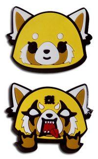 Aggretsuko – Happy & Angry Pvc Pins Pins