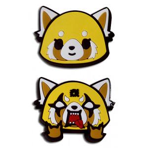 Aggretsuko Happy & Angry Pvc Pins Pins