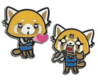 Aggretsuko – In Love To Rage Metal Pin Pins