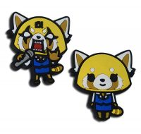 Aggrestuko Happy And Competitive PVC Pin Pins
