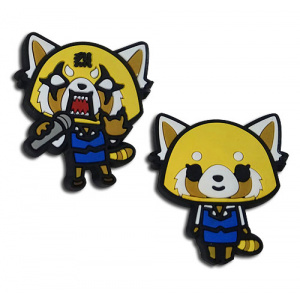 Aggretsuko Happy And Competitive Pin Set Pins