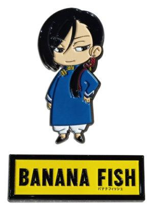 Banana Fish Yut Lung & Logo Pin Set Pins