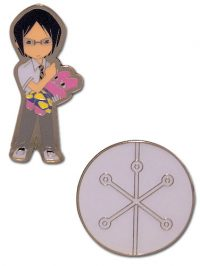 Bleach Uryu & Quincy Mark Metal Pin Set Pins