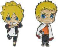 Boruto Boruto & Hokage Naruto Metal Pin Set Pins