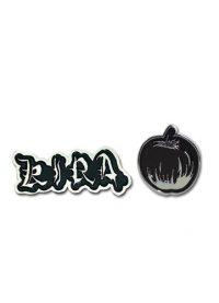 Death Note Kira & Apple Pin Set Pins