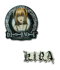 Death Note Misa & Kira Metal Pin Set Pins