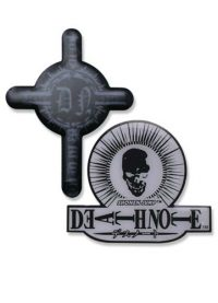 Death Note Skull And Cross Pin Set Pins