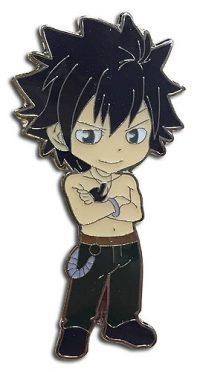 Fairy Tail Chibi Gray Fullbuster Enamel Pin Pins