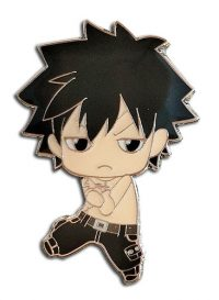 Fairy Tail S8 Chibi Gray with No Clothes Enamel Pin Pins