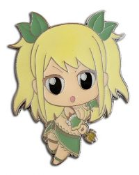 Fairy Tail S8 Lucy in Star Dress Enamel Pin Pins