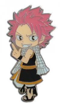 Fairy Tail Chibi Natsu Dragneel Enamel Pin Pins