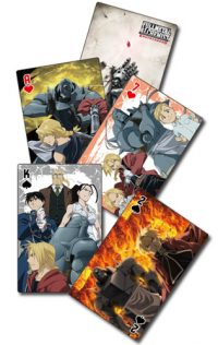 Fullmetal Alchemist Brotherhood – Group Playing Cards Playing Cards