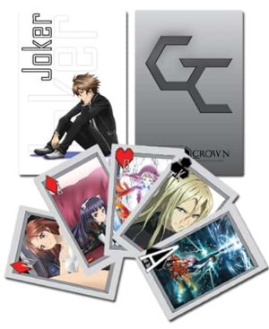 Guilty Crown Group Playing Cards Playing Cards
