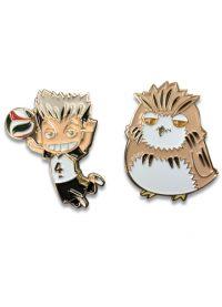 Haikyu!! – Bokuto & Bokuto Owl Pins Pins