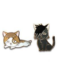 Haikyu!! – Kuroo Cat & Kozume Cat Pins Pins