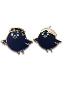 Haikyu!! – Sawamura Crow & Sugawara Crow Pin Set Pins
