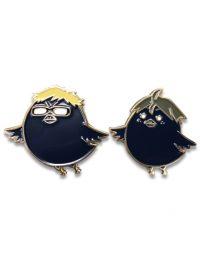 Haikyu!! – Tsukishima Crow & Yamaguchi Crow Pins Pins