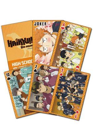 Haikyu!! Big Character Group Playing Cards Playing Cards