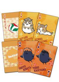 Haikyu!! S2  Big Group Chibi Playing Cards Playing Cards