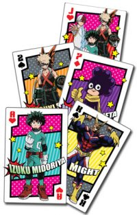 My Hero Academia Hero Costume Group Playing Cards Playing Cards