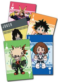My Hero Academia Group Chibi Playing Cards Playing Cards