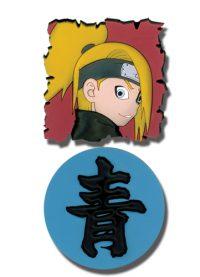 Naruto Shippuden Deidara & Kanji PVC Pin Set Pins