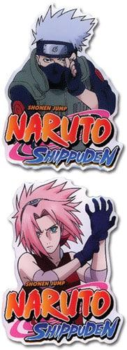 Naruto Shippuden Kakshi & Sakura Pin Set Pins