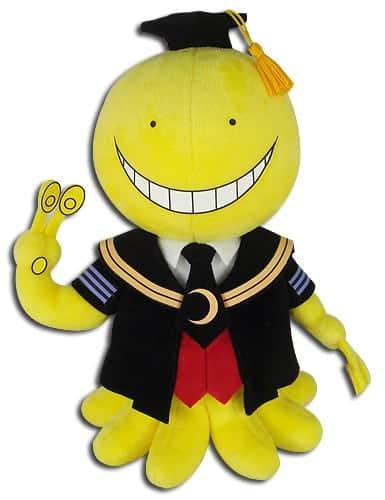 "Assassination Classroom Koro-Sensei 8"" Plush Anime Plushies"