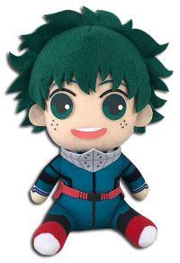 """My Hero Academia – Deku Hero Costume 2nd Version Sitting 7"""" Plush Anime Plushies"""
