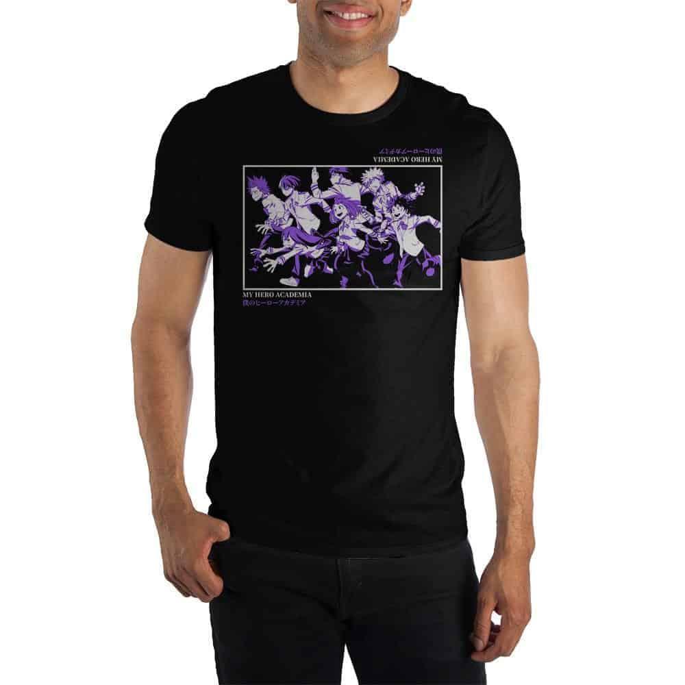 My Hero Academia Short Sleeve Tee T-Shirts