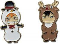 Haikyu!! S3 Hinata & Kageyama Christmas Pins Pins