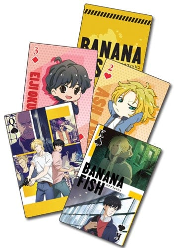 Banana Fish – Group Playing Cards Playing Cards 4