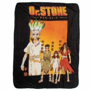 Dr. Stone Fleece Throw Blanket Blanket