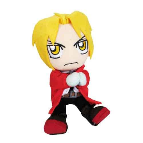 Fullmetal Alchemist Edward Sitting Pose Plush Anime Plushies