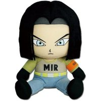 Dragon Ball Super Android 17 Sitting 7″ Plush Anime Plushies