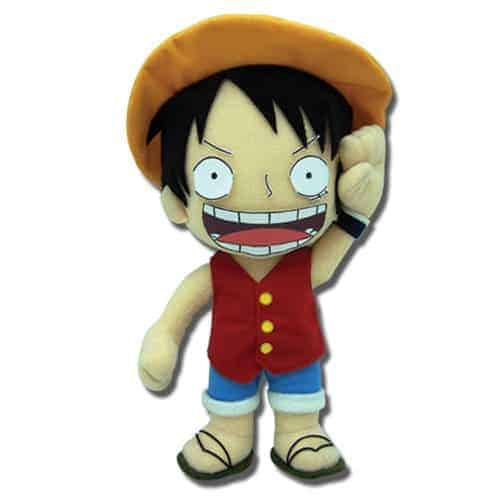 One Piece Luffy 10″ Plush Anime Plushies