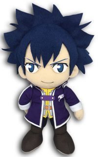 Fairy Tail S6 Gray Fullbuster in Mage Clothes 8″ Plush Anime Plushies