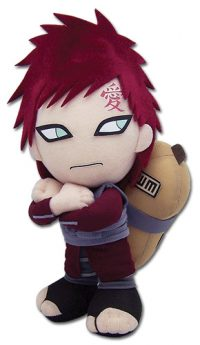 Naruto Shippuden Gaara 8″ Plush Anime Plushies