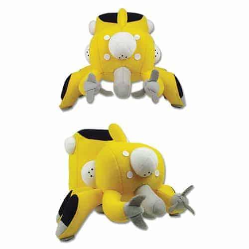 Ghost in the Shell Tachikoma Yellow 5″ Plush Anime Plushies