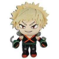 My Hero Academia Bakugo Standing in Hero Costume 8″ Plush Anime Plushies