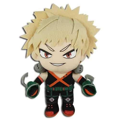 My Hero Academia Bakugo Standing in Hero Costume 8″ Plush Anime Plushies
