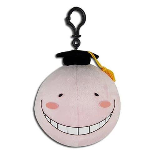 Assassination Classroom Pink Koro Sensei 4″ Plush Keychain Anime Plushies