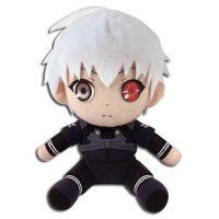 Tokyo Ghoul  Ken Kaneki w/ White Hair 7″ Plush Anime Plushies