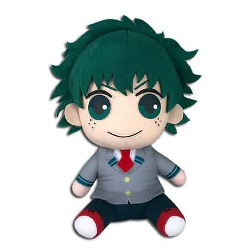 My Hero Academia Deku Seifuku Sitting Pose 7″ Plush Anime Plushies