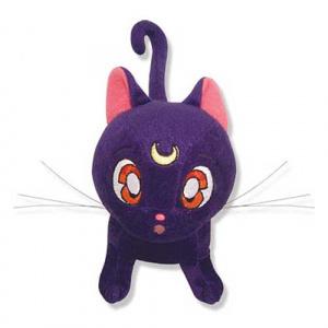 Sailor Moon Luna Cat 6 1/2″ Plush Plushies