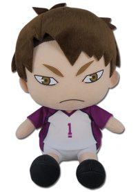 Haikyu!! S2 Wakatoshi Ushijima 6″ Sitting Pose Plush Anime Plushies