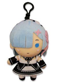Re:Zero Rem 5″ Keychain Plush Anime Plushies